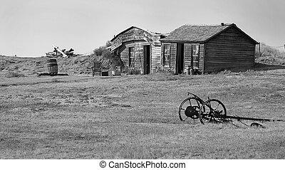 Prairie Homestead Historic Site, South Dakota - Prairie...