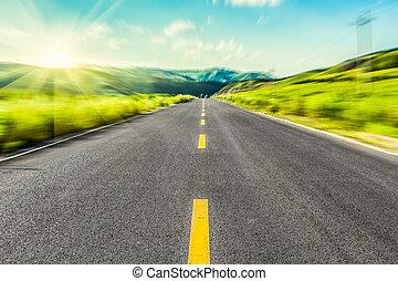prairie, route