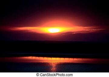 Prairie Sunset Canada
