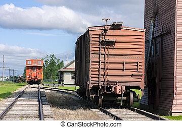 prairie, treinpost