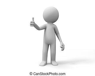 praise  - A people make praise gestures