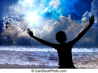 Praise The Lord - Woman worship and praise