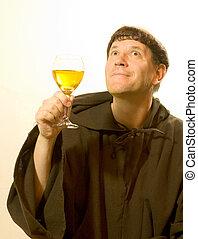 praises, moine, vin
