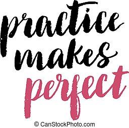 praktyka, marki, doskonały, print.