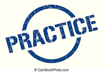 praktyka, tłoczyć