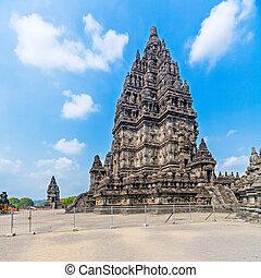 Prambanan Hindu temple (IX cent.), UNESCO World Heritage Site, Yogyakarta, Java, Indonesia