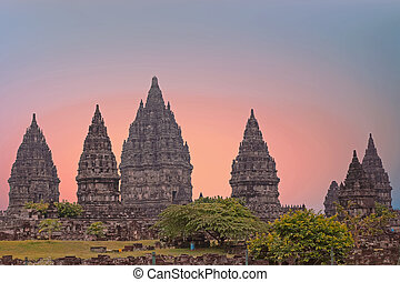 Prambanan or Candi Rara Jonggrang is a Hindu temple compound...