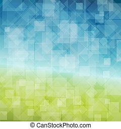 pramen, abstraktní, vektor, grafické pozadí