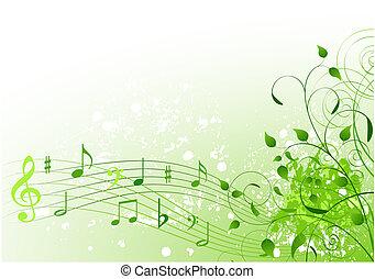 pramen, píseň