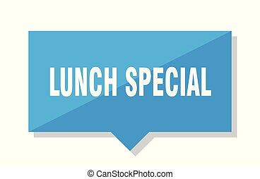 pranzo, cartellino del prezzo, speciale