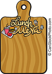 pranzo, menu