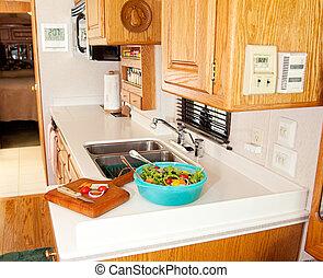pranzo sano, rv, cucina
