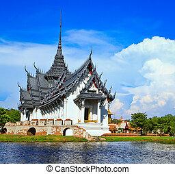 prasat, palazzo, sanphet, tailandia, bangkok