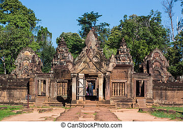 Prasat Ta Prohm, landmark in Siem Reap, Cambodia.