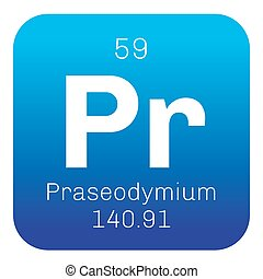 Praseodymium chemical element