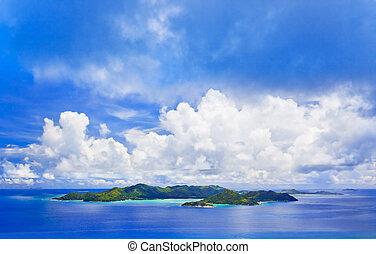 praslin , νησί , seychelles