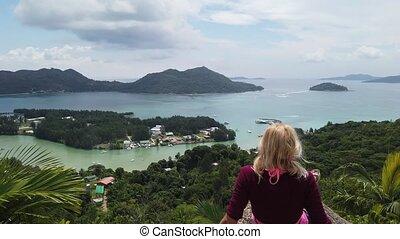 Praslin Seychelles panorama - Amazing panorama of Seychelles...
