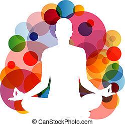 praticien, yoga