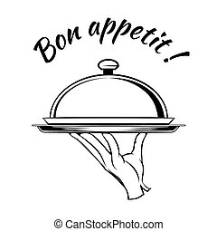 prato, appetit, bon, gostosa, elemento