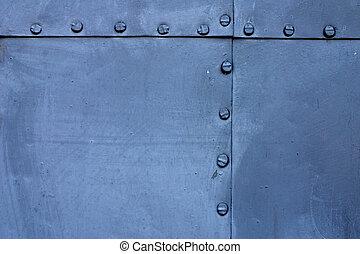 prato azul, metal