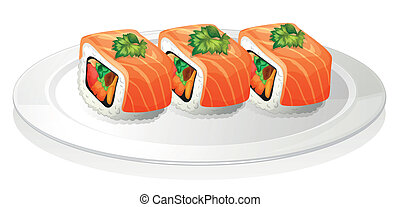 prato, sushi