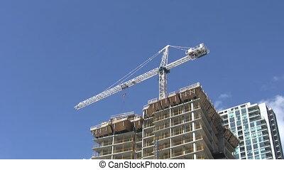 prawdziwy, mieszkanie, time., construction.