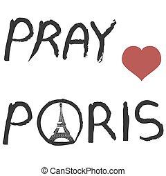 pray for paris background