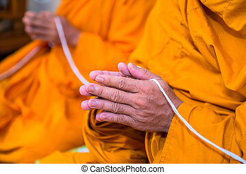 monks, thailand