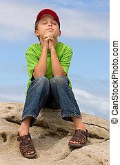 Prayer - A child in prayer