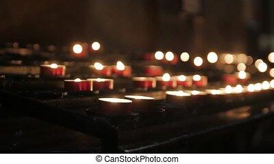 Prayer Candles Altar