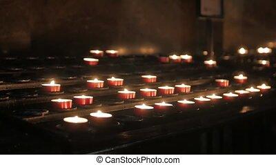 Prayer Candles Memorial