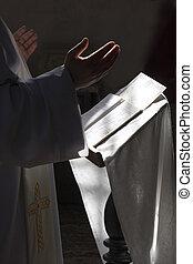 Prayer in some catholic church