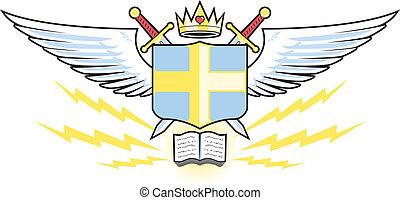 Prayer Warrior Crest