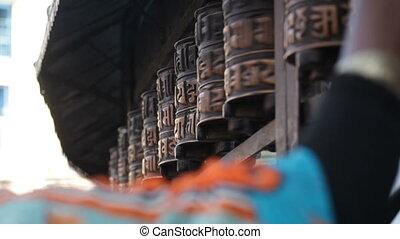 prayer wheel
