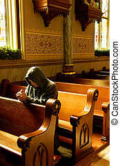 Prayers at Church