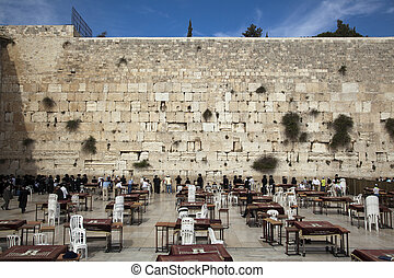 Prayers at the Wailing Wall - Prayers at the Western Wall, ...