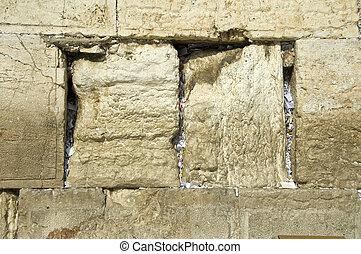 Prayers Wailing Wall