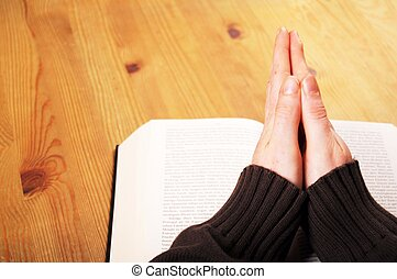 praying, руки