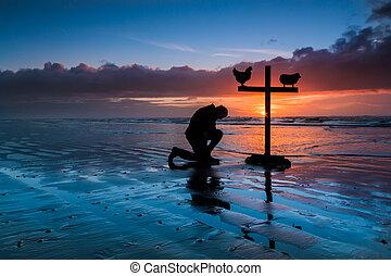 Praying Cross Beach