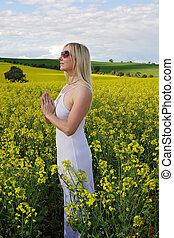 Praying for rain good crops harvest agriculture