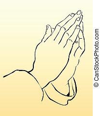 praying hænder