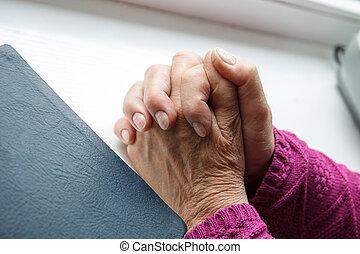 Praying to God