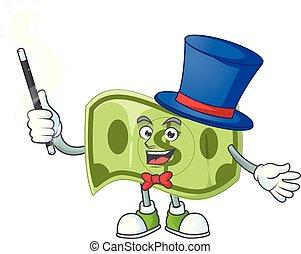 preço, dinheiro, profit., mágico, dólar, papel
