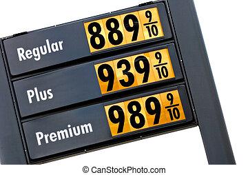 preços, gás, amanhã