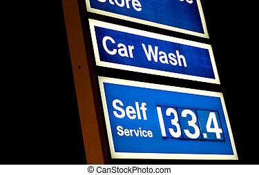 preços, gás