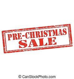 pre-christmas, sale-stamp
