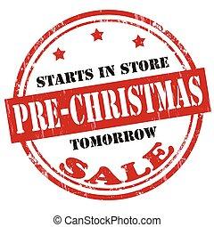 pre-christmas, vendita