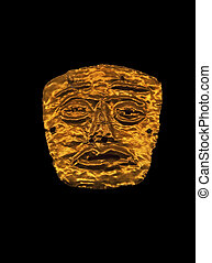 Pre-Columbian gold amulet from Costa Rica