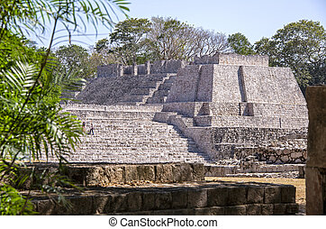 pre columbian, maya, 構造