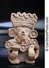 pre columbian, warrior.